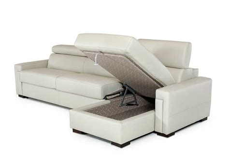leather sectional sofa with sleeper leather sectional sofa with sleeper vg360 leather sectionals