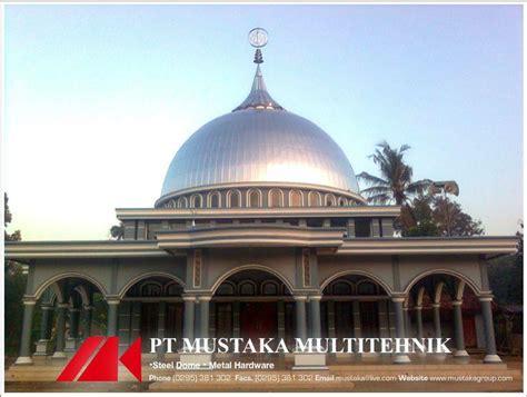 Jual Rockwool Pati jual kubah masjid stainless steel harga murah pati oleh pt