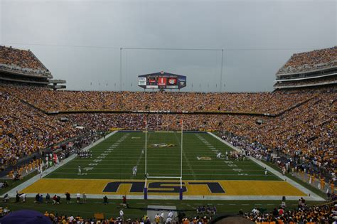 lsu student section tiger stadium file tiger stadium jpg wikimedia commons