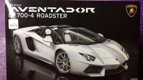 aoshima 1 24 lamborghini aventador lp700 4 roadster youtube