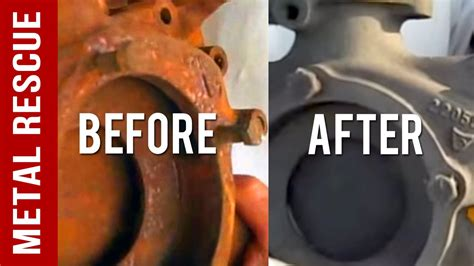 how to clean rust brass how to remove rust from water housing safe fast reliable