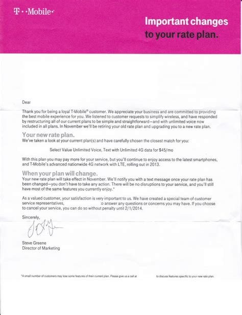 T Mobile Letter Of Credit t mobile moving all users to simple choice plans in