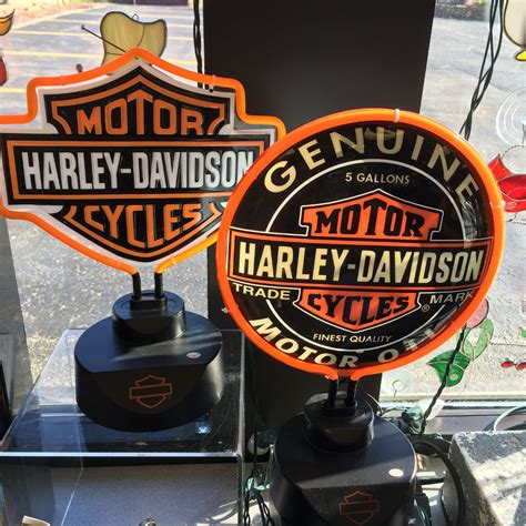 harley davidson neon light harley davidson gifts glass house store