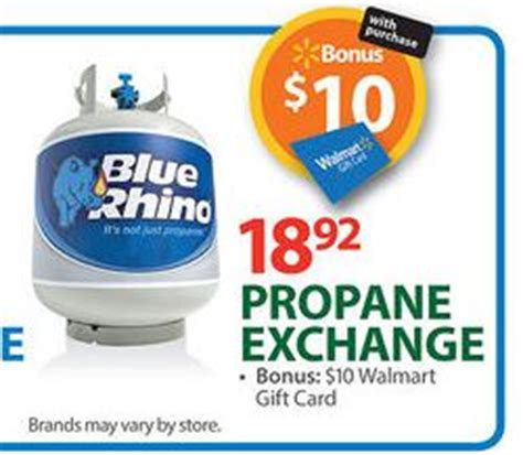 back again propane exchange deal at walmart 5 92