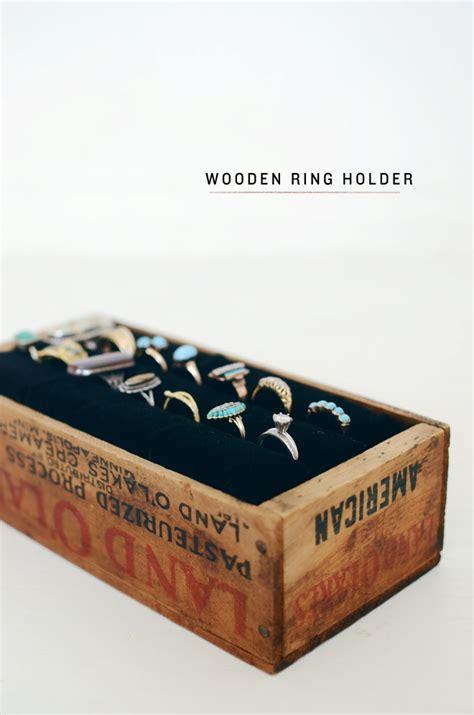 diy wood ring diy wooden ring holder cakies