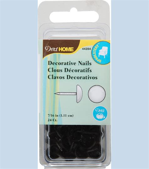 dritz home decorative nails dritz home 0 44 round decorative nail tacks rubbed