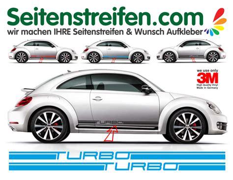 Vw Beetle Herbie Aufkleber by Vw Beetle K 228 Fer Turbo Seitenstreifen Dekor Aufkleber