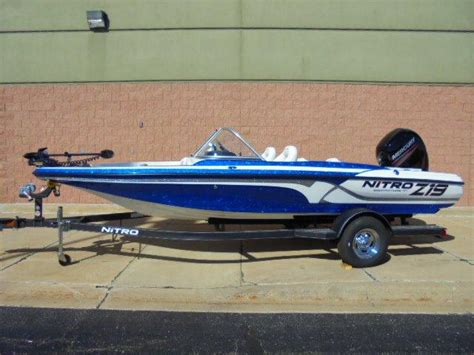 used nitro bass boats for sale in michigan 2017 new nitro z19 sportz19 sport bass boat for sale