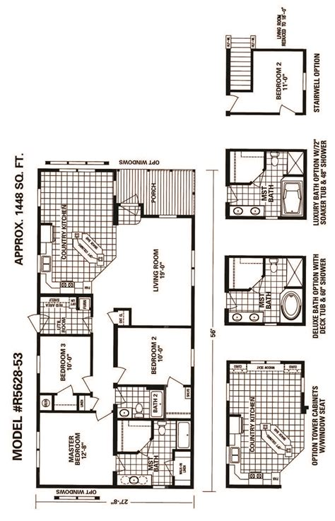 schult homes floor plans schult timberland 5628 53 excelsior homes west inc