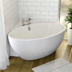 Showers For Freestanding Baths Affine Fontaine Corner Freestanding Bath 1510mm X 935mm