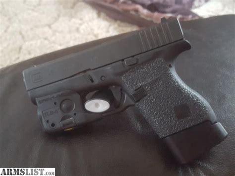 light for glock 43 armslist for trade lnib glock 43 with streamlight tlr 6