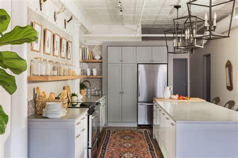 Nashville Interior Designers by Sabbe Interior Design Leather District Loft Kitchen