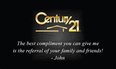 century 21 real estate business card design 102384