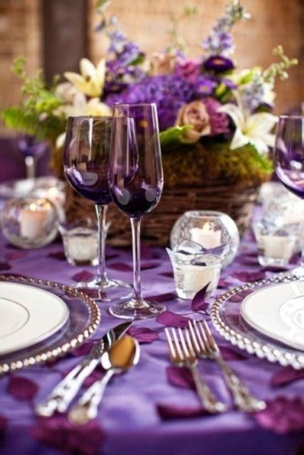 wedding table settings purple 67 summer wedding table d 233 cor ideas weddingomania