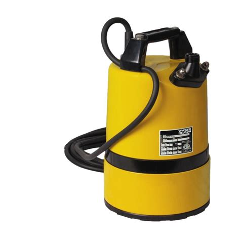 wacker 2 3 hp 3 4 in electric submersible utility