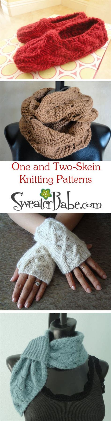 two skein knitting patterns one and two skein knitting patterns sweaterbabe