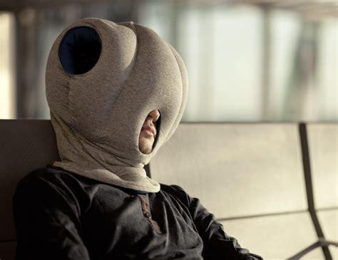 ostrich pillow les coussins de sieste par le studio banana
