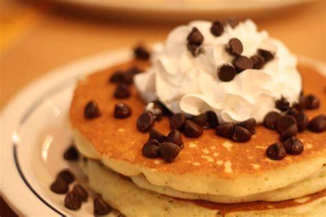 chocolate chip pancakes recipe dishmaps
