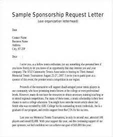 Sponsorship Letter To Businesses 45 Request Letter Template Free Premium Templates