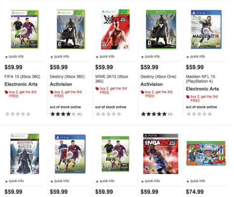 daily deals buy two get one free ps4 sale 3ds sale ign