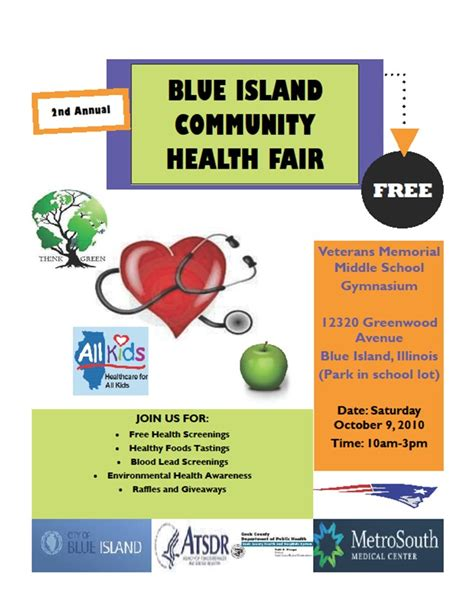 health fair flyer templates free 10 best images of health fair flyer templates free health and wellness fair flyer template