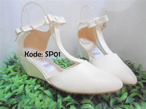 jual wedges wanita sp01 elstore sepatu bogor