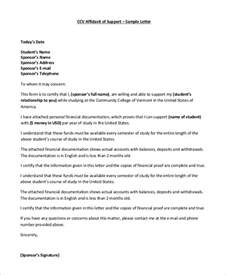 Template For An Affidavit by Sle Affidavit 10 Exles In Word Pdf