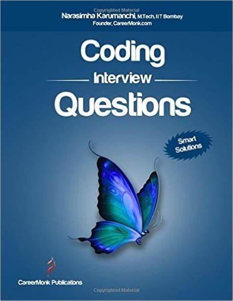 the big book of coding interviews in java 3rd edition answers to the best programming questions on data structures and algorithms books what are some infosys questions quora