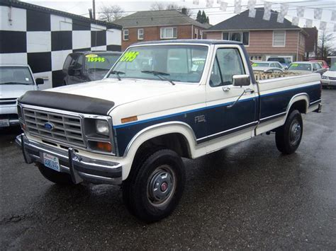 1986 ford f250 1986 ford f250 xlt 4x4 shound be in show details