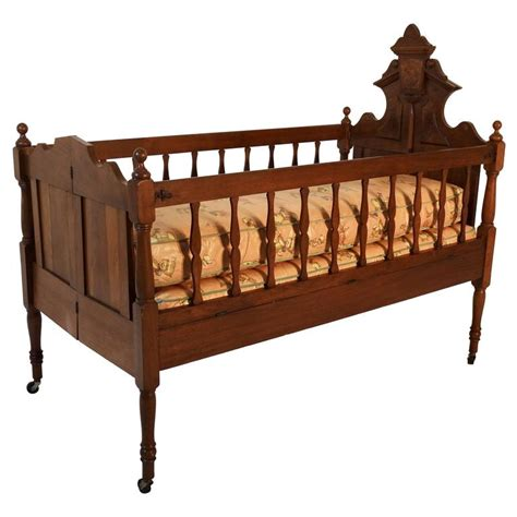 Used Iron Crib For Sale by 19th Century Baby Bed For Sale At 1stdibs