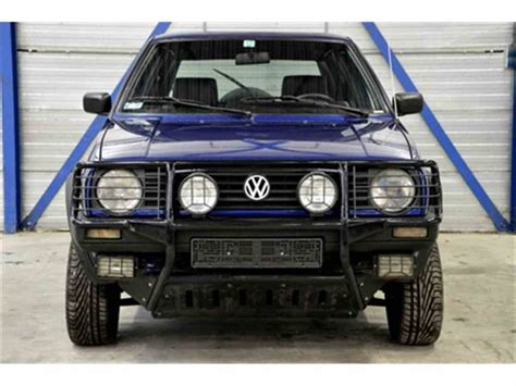 volkswagen 4x4 for sale 1992 volkswagen golf country 4x4 for sale classiccars