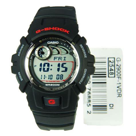 Casio G Shock G 2900f 1v Original Black g 2900f 1v black casio s g shock 200m wr analog