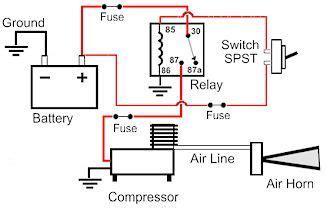 inspiring omega air horn wiring diagram images best
