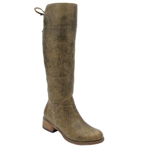 pungo ridge corral olive green boot