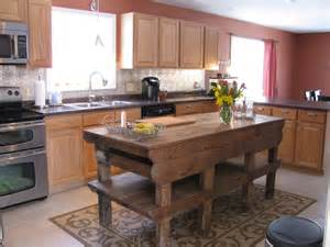 vintage kitchen island heir and space tables as kitchen islands