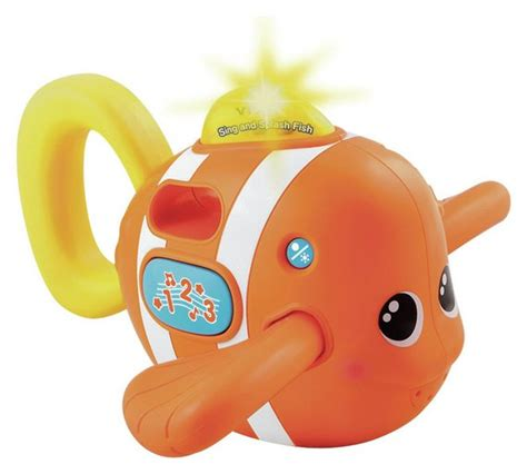 Diskon Vtech Sing And Splash Fish buy vtech sing and splash fish bath at argos co uk your shop for baby bath toys and