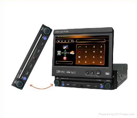 """7"""" touch screen car dvd player built in gps and bluetooth"""