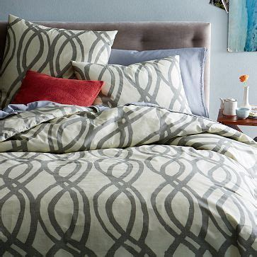 West Elm Swirl Rug by Organic Painted Swirl Duvet Westelm For The Of