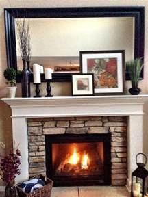fireplace surround ideas mantel decorating layering c2design home pinterest