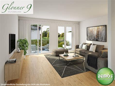 moderne reihenhäuser innenillustration wohnzimmer glonner 9 glonner9