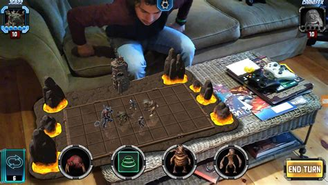 hologrid battle brings turn based tactics to on hololens hologrid battle brings turn based tactics to