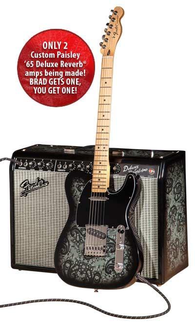 Fender Guitar Giveaway - fender brad paisley giveaway ams to give away brad paisley autographed fender black