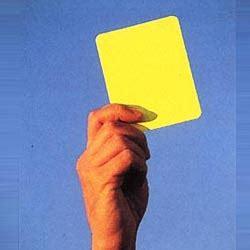 apakah bisa membuat kartu kuning di kecamatan sejarah kartu merah dan kartu kuning dalam sepak bola