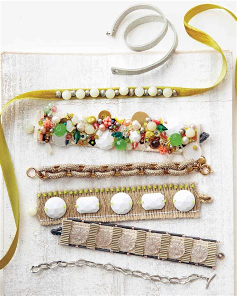 Handmade Jewelry Diy - handmade fabric jewelry martha stewart