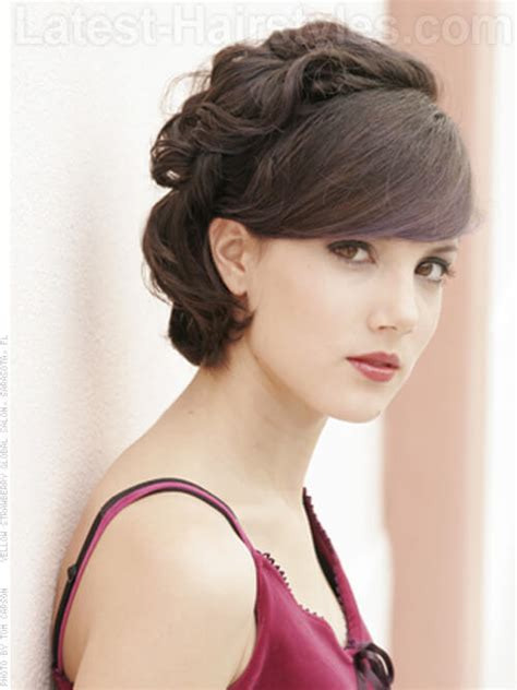 12 sexy hairstyles with side bangs fringe up your look 12 sexy hairstyles with side bangs fringe up your look