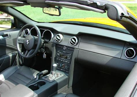 07 Mustang Interior by Grabber Orange 2007 Ford Mustang Shelby Gt 500 Convertible