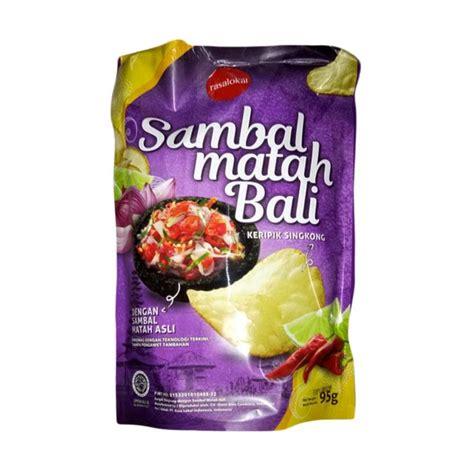 Rasa Lokal Keripik Sambal Matah Bali Gila jual rasa lokal keripik singkong sambal matah bali makanan kering harga kualitas