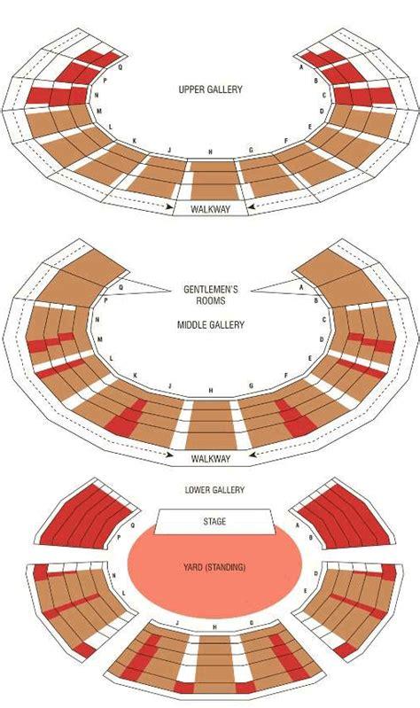globe theatre floor plan king lear tickets globe theatre london
