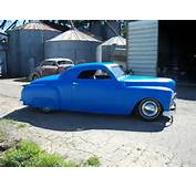 1950 Plymouth Business Coupe Chopped Hot Rod Custom  Rods For