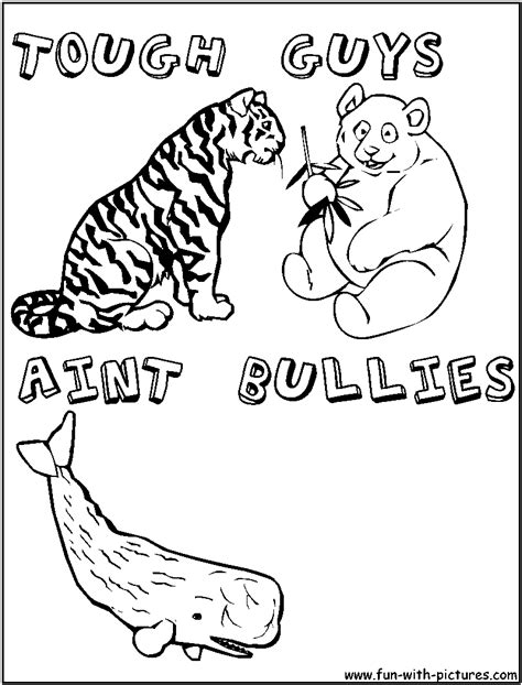 The Gallery For Gt No Bullying Coloring Posters Bullying Coloring Pages